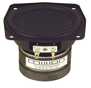 Mission small woofer CP-104