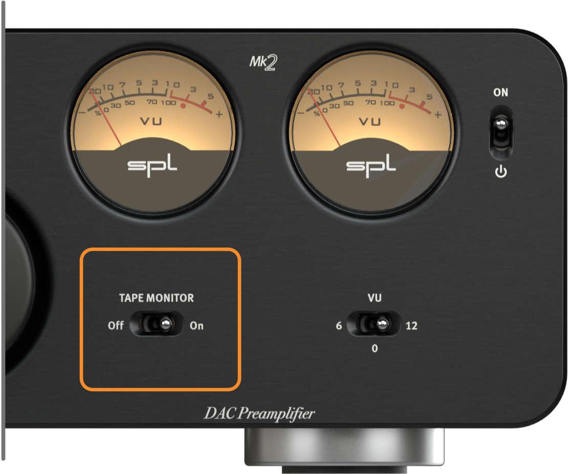 SPL Director Mk2, Hinterbandkontrolle