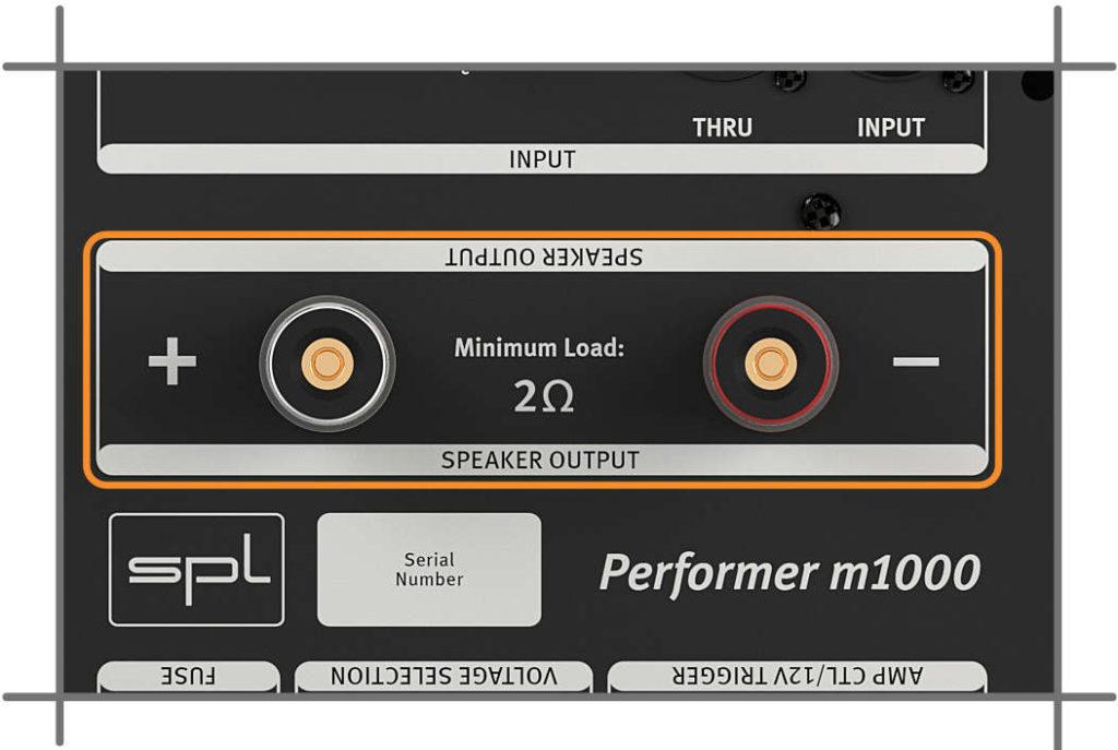 SPL Performer m1000, Plus & Minus