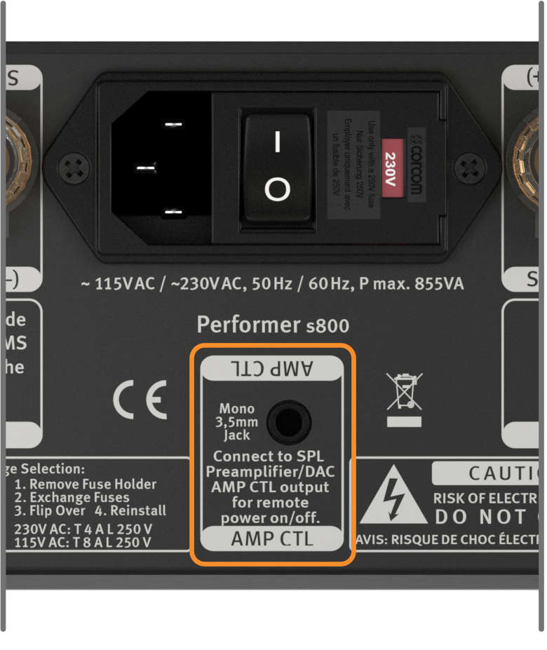 SPL Performer s800, AMP CTL
