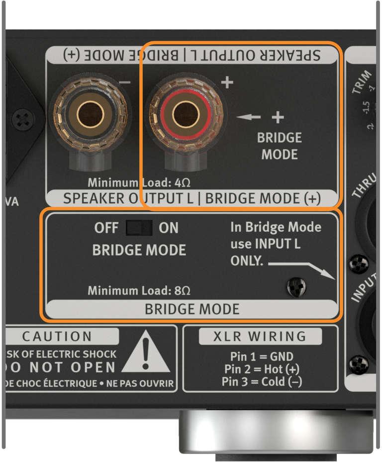 SPL Performer s800, Brücken