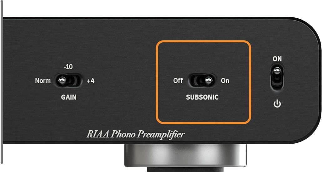SPL Phonos, Subsonic Filter
