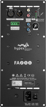 Hypex Fusion Plate amplifier